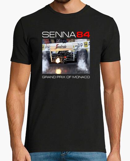 Camiseta Senna Monaco GP 1984