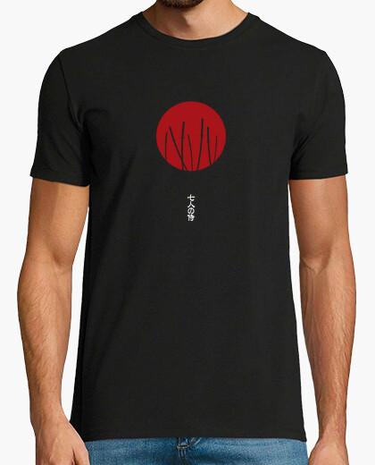 Tee-shirt sept samouraïs
