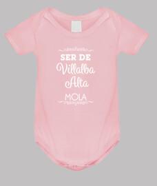 Ser de Villalba Alta mola - Texto blanc