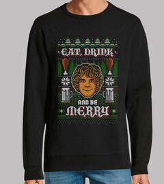 ser feliz / hobbits / feo / suéter
