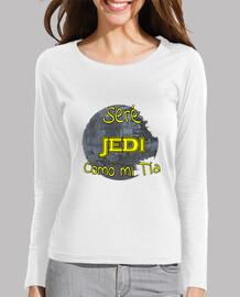 Seré Jedi Como mi tía chica