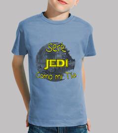 Seré Jedi Como mi tía niños