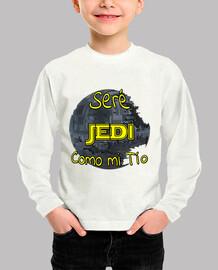 Seré Jedi como mi Tio niños