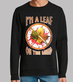 Serenity leaf on the wind