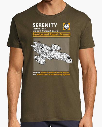 Serenity service and repair manual t-shirt