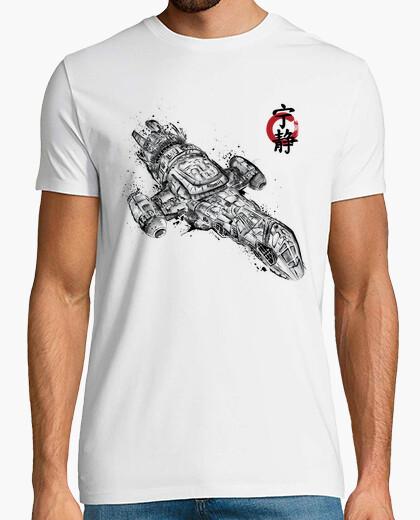 Camiseta Serenity sumi-e