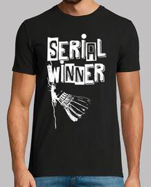 serial winner badminton fond noir