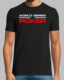 série du monde de poker - noir