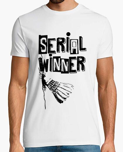 Camiseta serie ganadora de bádminton