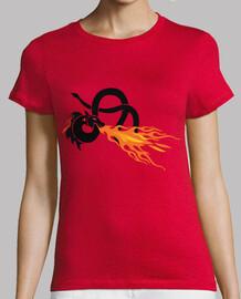 serpent dragon crache du feu