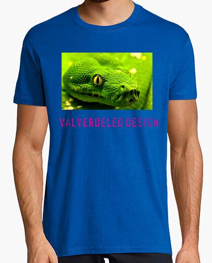 Camiseta Serpiente color amarillo