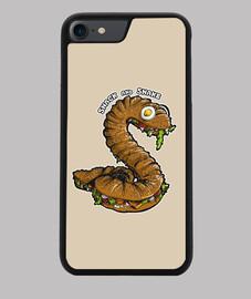 serpiente y merienda
