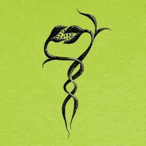Tee-shirts serpientes plantas serpientes enamorada