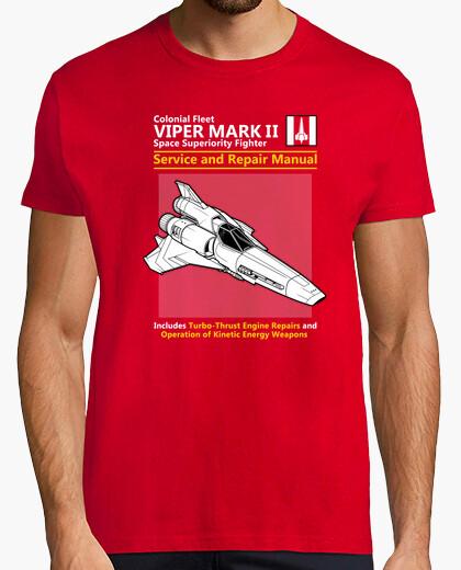 Camiseta servicio de víbora y manual de reparaciones