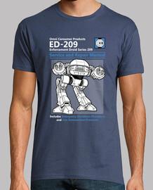 servicio ed-209 y el manual de reparación