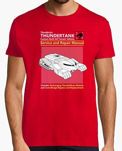 Camiseta servicio thundertank y manual de reparaciones