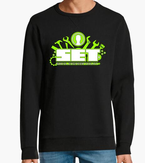 Set social engineer toolkit green logo hoody