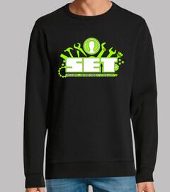 SET. Social Engineer Toolkit. Logo Verd