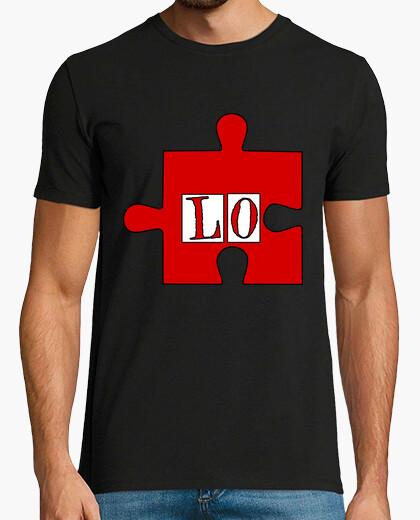 Camiseta Set x2 parejas  PUZZLE LOVE