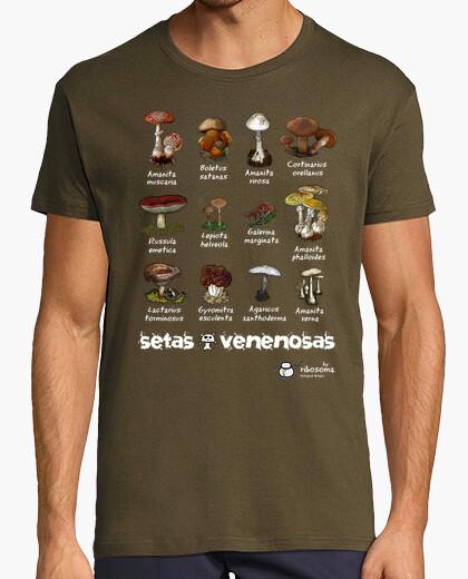 Camiseta Setas venenosas :S