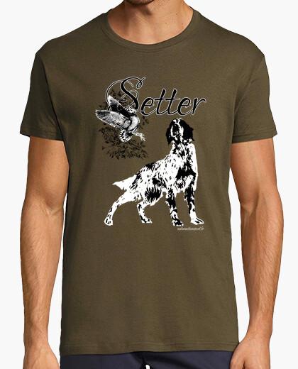 Tee-shirt Setter Anglais VS Bécasse
