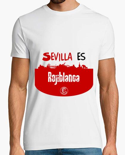 Camiseta Sevilla FC chica