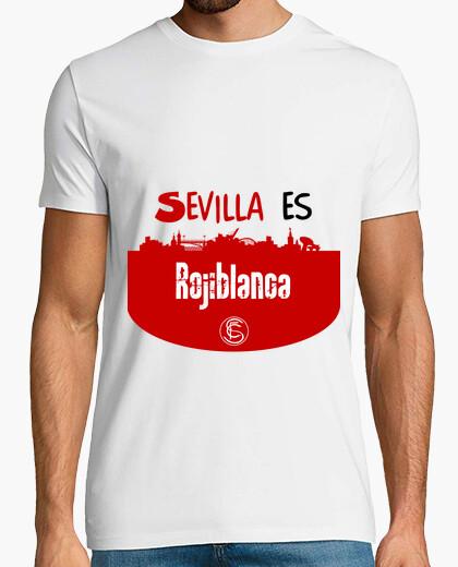 Camiseta Sevilla fc - Sevilla es Rojiblanca - nº 1070132 - Camisetas ... 88566dd46b116