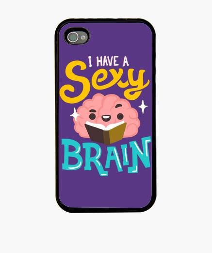 Funda iPhone Sexy Brain case