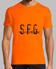 sfg, orange de style rétro et noir