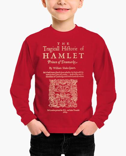 Shakespeare hamlet 1603 (dark t) children's clothes