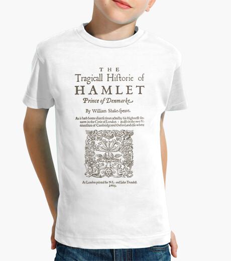Ropa infantil Shakespeare, Hamlet 1603 (light T)