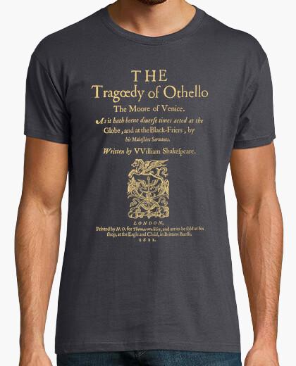 T-shirt shakespeare, otello (1622 magliette scure)
