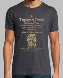 Shakespeare, Othello 1622 (dark Tees)