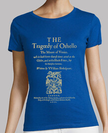 Shakespeare, Othello 1622 (dark Tees)