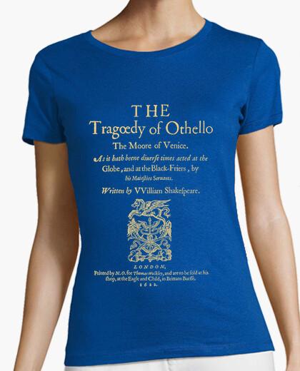 Camiseta Shakespeare, Othello 1622 (dark Tees)