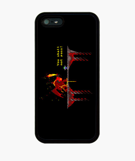 Shall you not pass! iphone cases