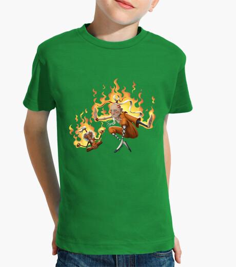 Shaolin monk - children shirt children's clothes