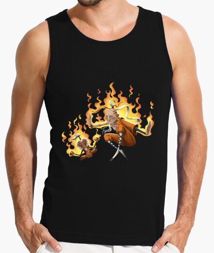 Shaolin monk - sleeveless boy t-shirt