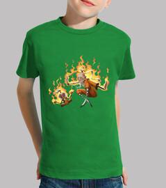 shaolin monk - t-shirt figlio