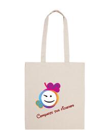 share files smiley original bag