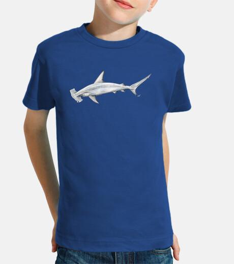 shark hammer t-shirt boy