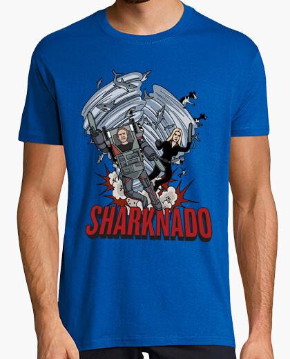 Camiseta Sharknado Heroes