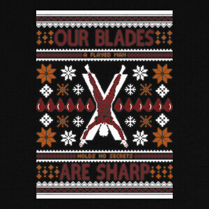 Camisetas Sharp Blades Ugly Sweater