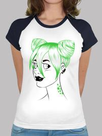sheena green ponytails