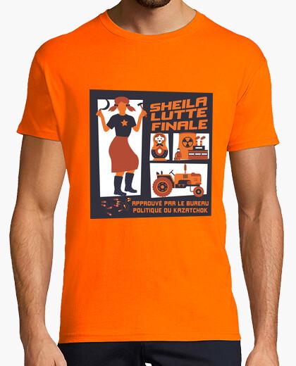 Tee-shirt Sheila lutte finale