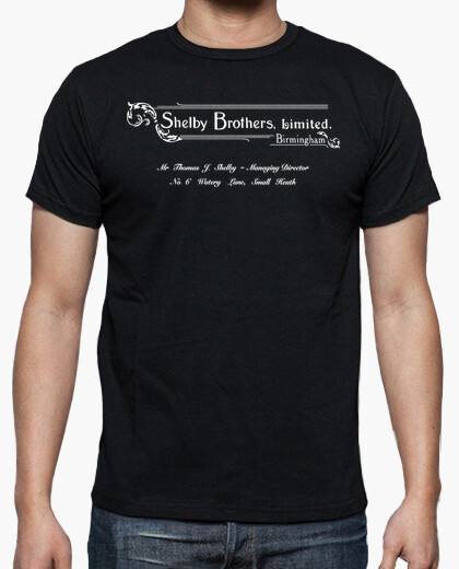 T-shirt Shelby Brothers Limited - Peaky Blinders