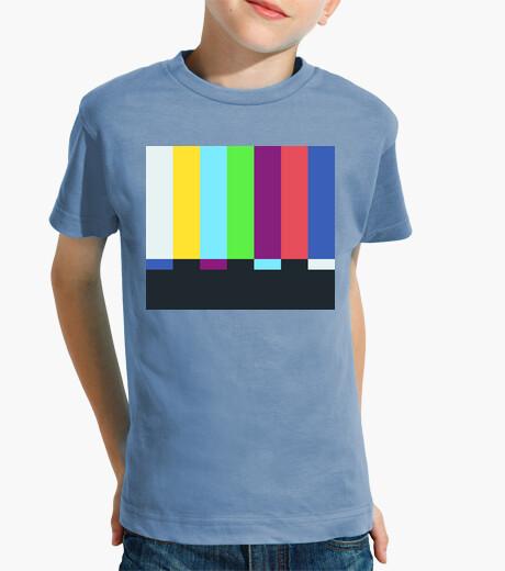 Vêtements enfant sheldon cooper - barres de couleur tv