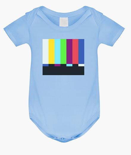 Vêtements enfant sheldon cooper - barres de couleurs tv