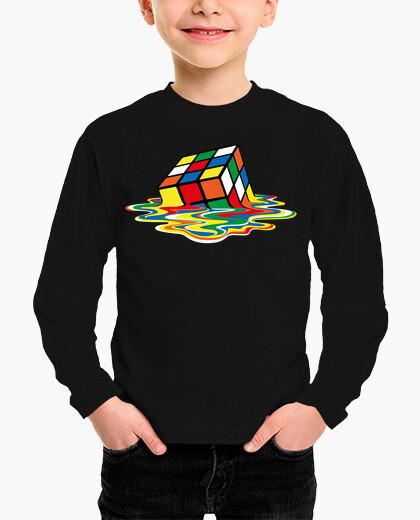 Ropa infantil Sheldon Cooper - cubo Rubik derretido