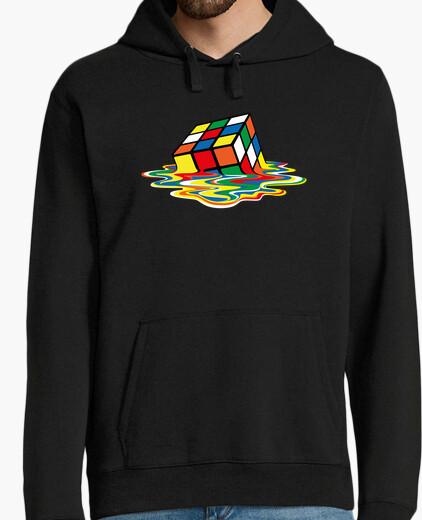 Sudadera Sheldon Cooper - cubo Rubik derretido